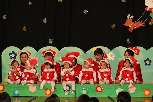 ⑰「サンタクロース サンタクロース」たんぽぽ(高月齢)