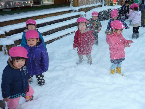 雪あそび (3)